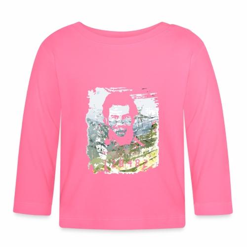 Pablo Escobar distressed - Baby Langarmshirt
