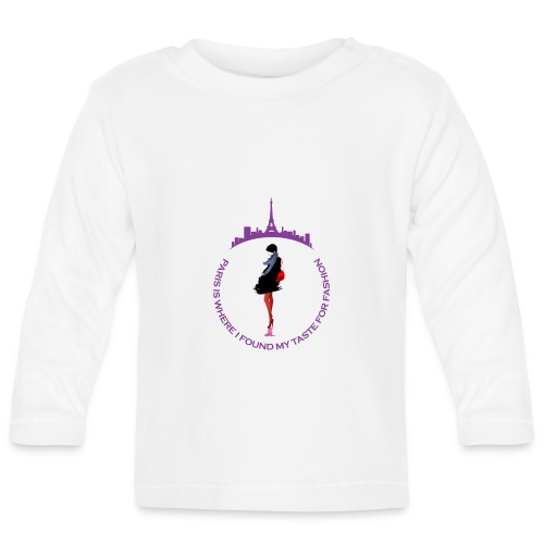 Paris Fashion Design 2 - T-shirt manches longues Bébé