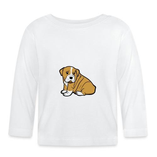My Best Friend - Hundewelpen Spruch - Baby Langarmshirt