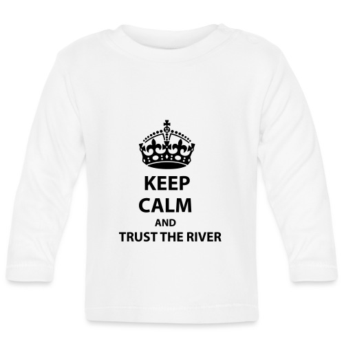 Trust The River - Långärmad T-shirt baby