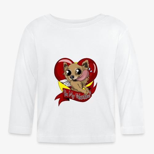 Engla Be my valentine? - Långärmad T-shirt baby