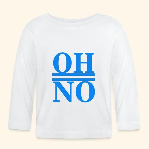 Oh no - Maglietta a manica lunga per bambini