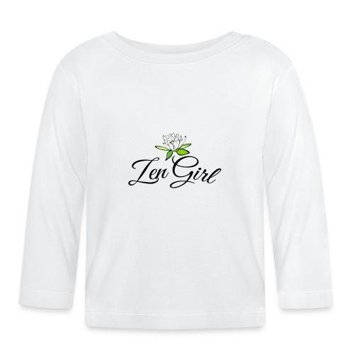 Zen Girl -Lotus Blomma - Prima Vera Design - Långärmad T-shirt baby