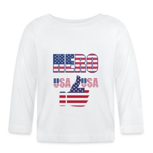 Hero USA - Baby Langarmshirt