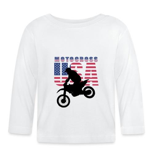 USA Motocross Riders and Bikers - Baby Langarmshirt