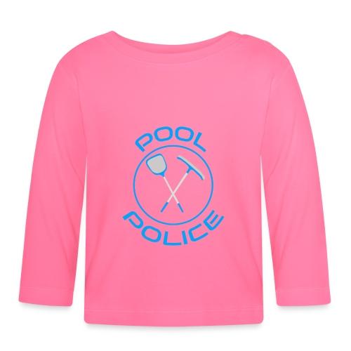 POOL POLICE FUN / Surveillant de piscine cool - T-shirt manches longues Bébé