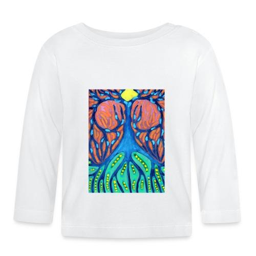 Drapiężne Drzewo - Koszulka niemowlęca z długim rękawem
