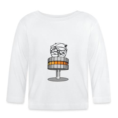 Weltzeituhr BERLIN c - Koszulka niemowlęca z długim rękawem