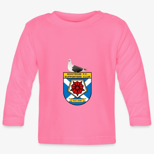 Montrose FC Supporters Club Seagull - Baby Long Sleeve T-Shirt