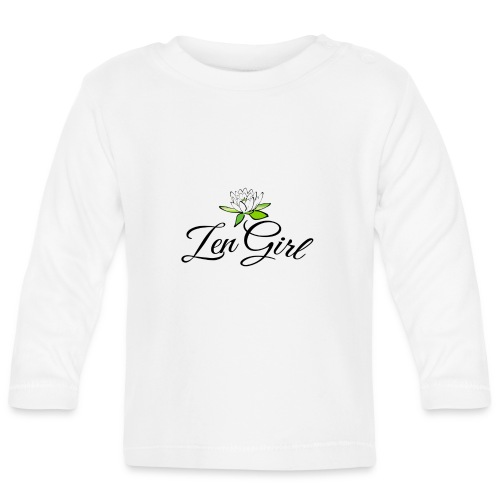 zengirl with lotusflower for purity in life - Långärmad T-shirt baby