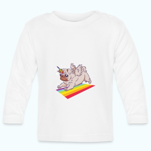 Unicorn Pug Limited Edition - Baby Long Sleeve T-Shirt