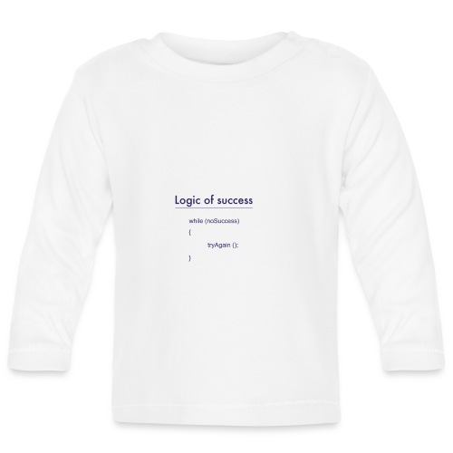 success - Baby Langarmshirt