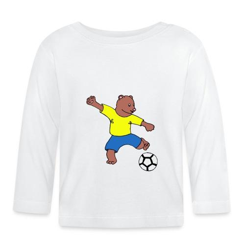 Bill le footballeur - T-shirt manches longues Bébé