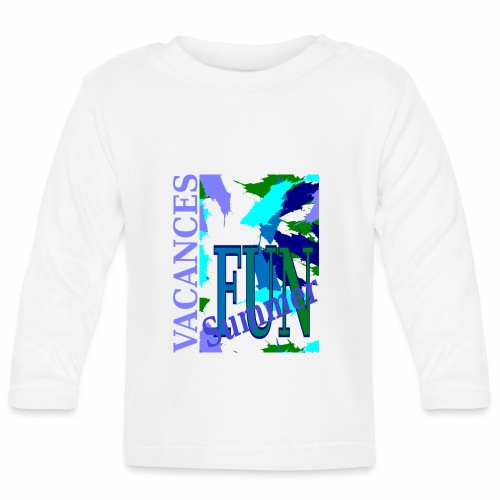 Vacances Summer Fun - Baby Long Sleeve T-Shirt