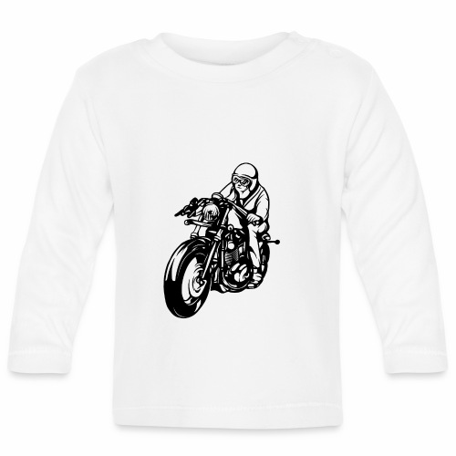 Motorradfahrer - Baby Long Sleeve T-Shirt