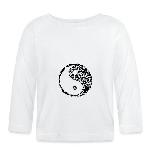 YinYang Cats - Baby Langarmshirt