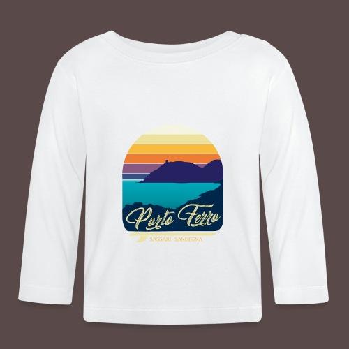 Porto Ferro - Vintage travel sunset - Maglietta a manica lunga per bambini