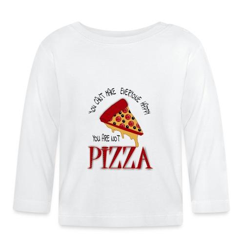 Sie können nicht alle glücklich machen, dass Sie keine Pizza sind - Baby Langarmshirt