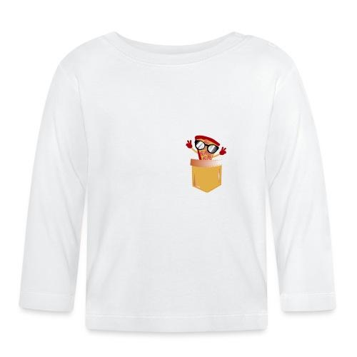 Pizza Liebhaber Tasche - Baby Langarmshirt