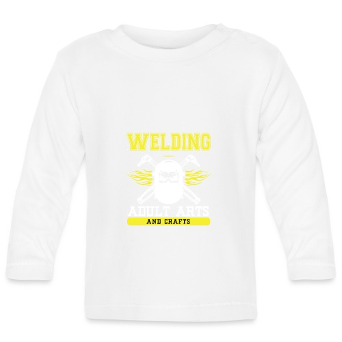 Welding adults Arts And Crafts - Baby Langarmshirt