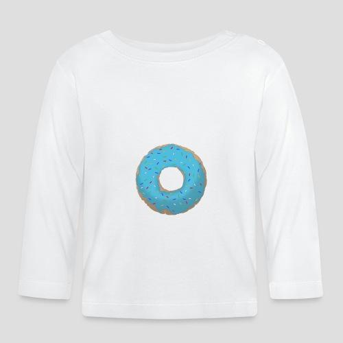 Wähle deinen Donut - Blau | für Männer und Frauen - Baby Langarmshirt