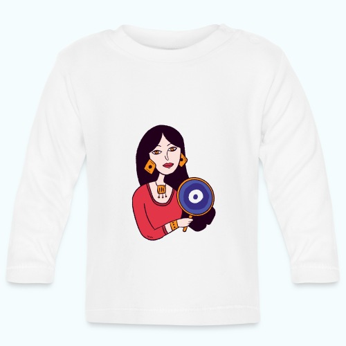 Fashion Girl - Baby Long Sleeve T-Shirt