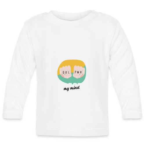 t shirt design template for womens day featuring - Camiseta manga larga bebé