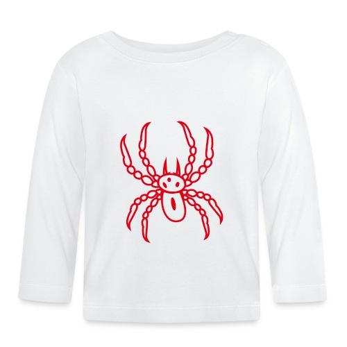 Spinne rot - Baby Langarmshirt