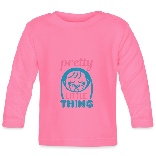 Pretty little thing - Baby Langarmshirt