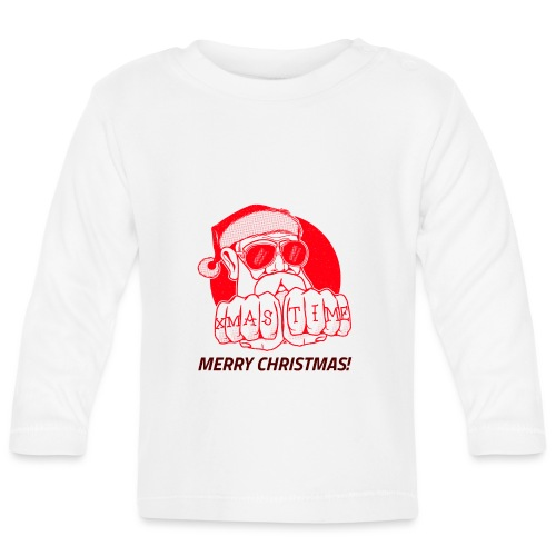 christmas - T-shirt manches longues Bébé