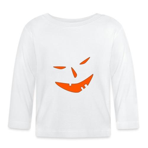 Helloween, Kürbis, Gruselig, Geschenk, 31.10. - Baby Langarmshirt