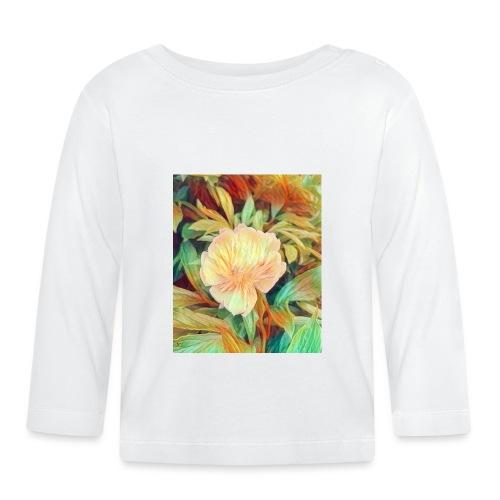 Flower - Baby Langarmshirt