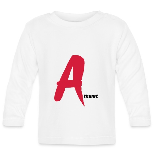 Big Red A Atheism Logo - Baby Long Sleeve T-Shirt