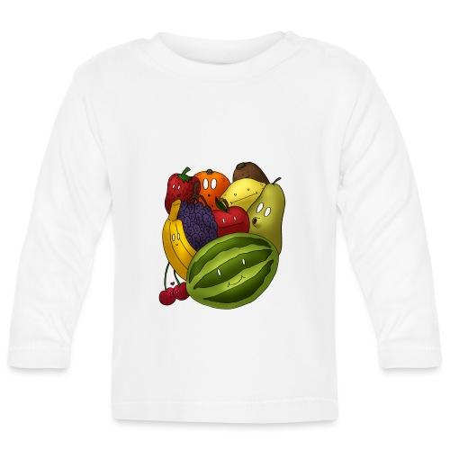 Happy Fruits - Baby Langarmshirt