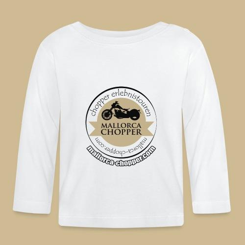mallorca-chopper-logo - Baby Langarmshirt