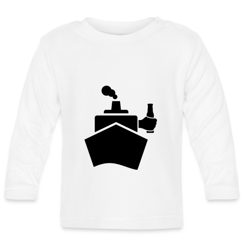 King of the boat - Baby Langarmshirt