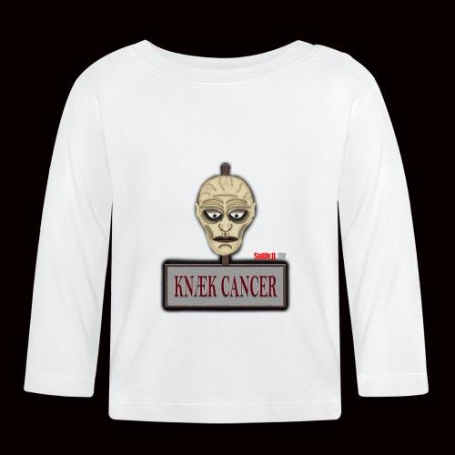 Knæk Cancer Kollektion ! - Langærmet babyshirt