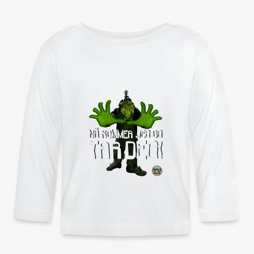Troll - Langarmet baby-T-skjorte