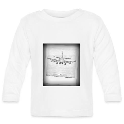 747 - Camiseta manga larga bebé
