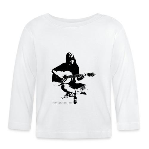 Cynthia Janes guitar BLACK - Baby Long Sleeve T-Shirt