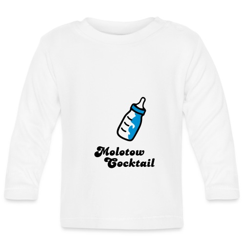 babyflasche molotow cocktail - Baby Langarmshirt