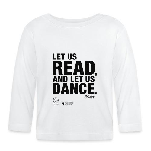 LET US READ | Bookish Merch - Baby Langarmshirt