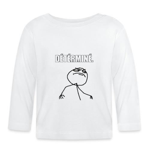 DÉTÉRMINÉ. - T-shirt manches longues Bébé