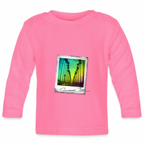 Summer Time - Baby Long Sleeve T-Shirt