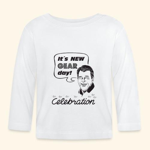 NEW gear Day - Vauvan pitkähihainen paita