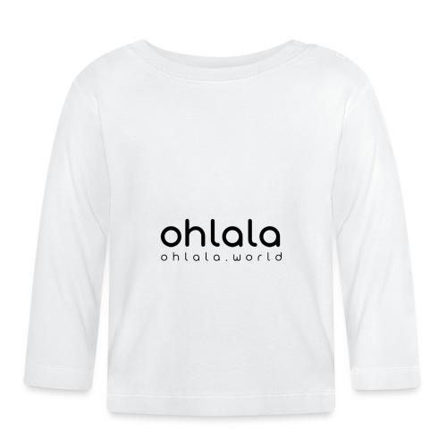 Ohlala Single BLACK - T-shirt manches longues Bébé