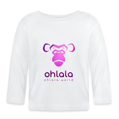 Ohlala PURPLE - T-shirt manches longues Bébé