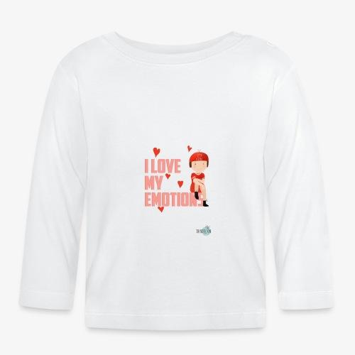 i love my emotions girl - Maglietta a manica lunga per bambini