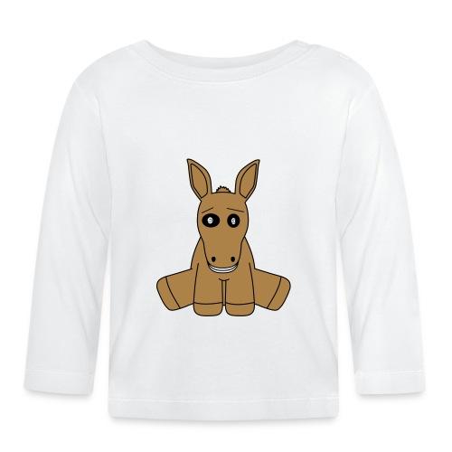 horse - Maglietta a manica lunga per bambini