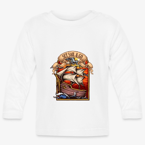 L'explorateur - T-shirt manches longues Bébé